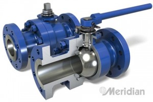 Floating Ball Valve by <b>Meridian™</b>