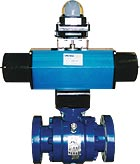 Meridian Double Acting and Spring Return Pneumatic Actuators